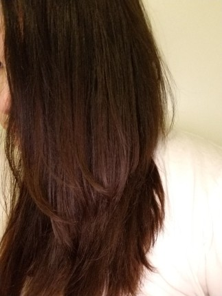 Smoothed Hair