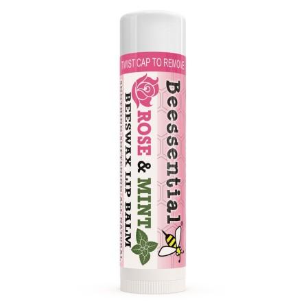 Beessential Rose Mint Lip Balm.jpg